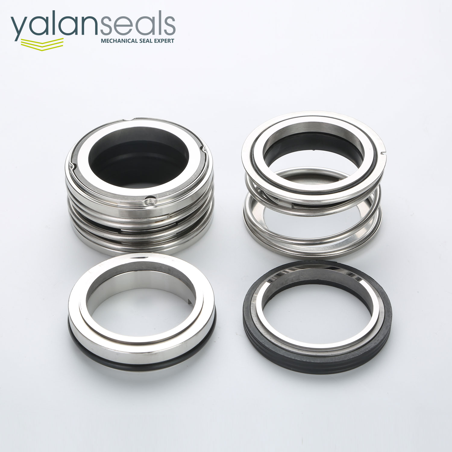 YALAN 128 Rubber Bellow Mechanical Seal works with YL110 Seal as Double Seal