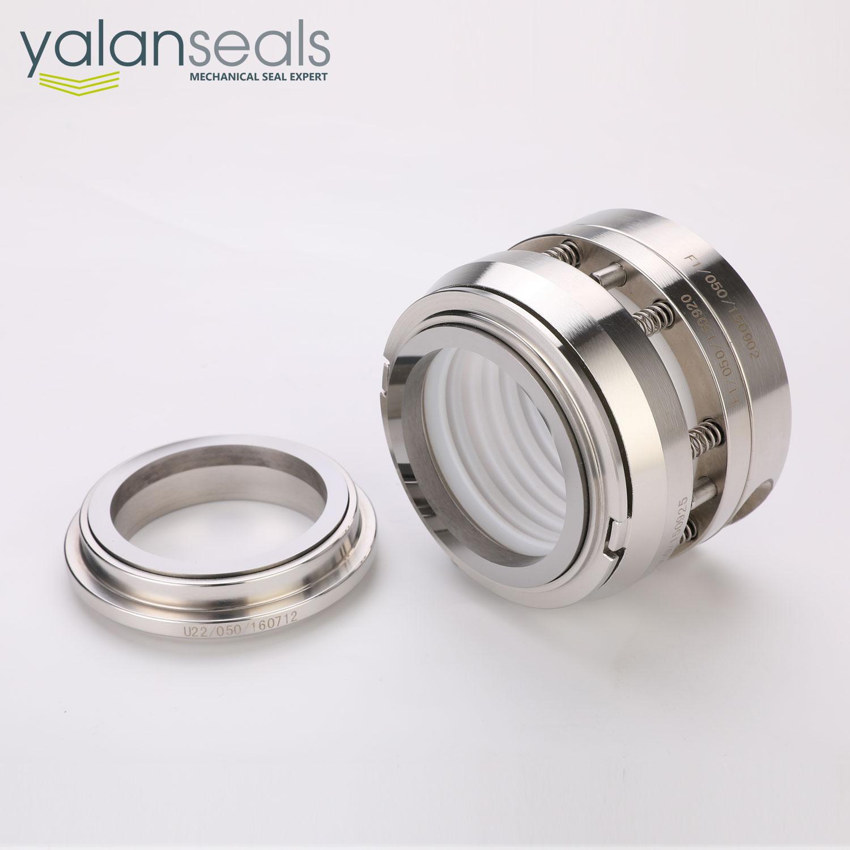 Type 169 Multiple Spring PTFE Elastomer Bellow Mechanical Seal