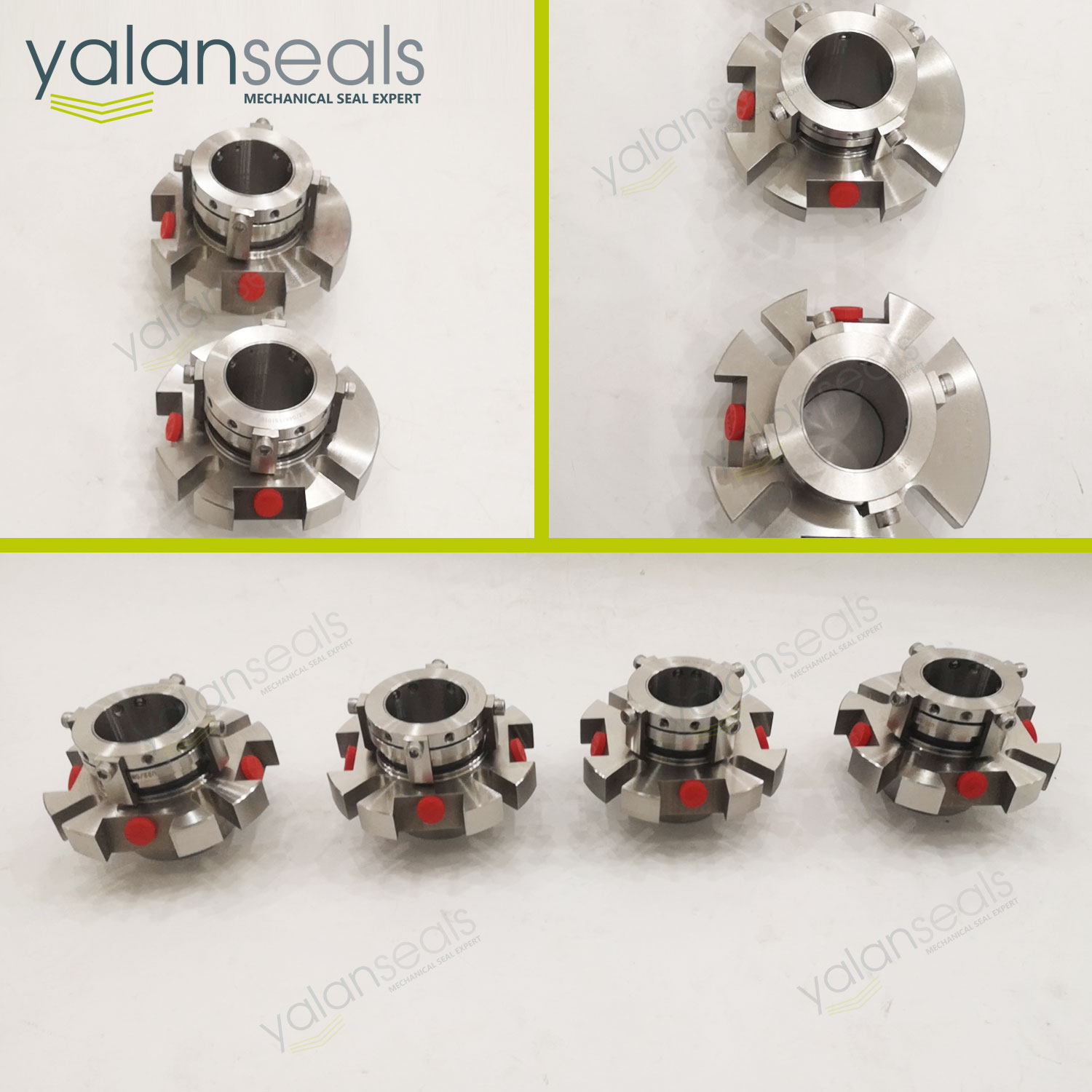 YALAN Retrofit Mechanical Seals for AES CDPN Double Cartridge Seals for Pulp Pumps and Chemical Pumps
