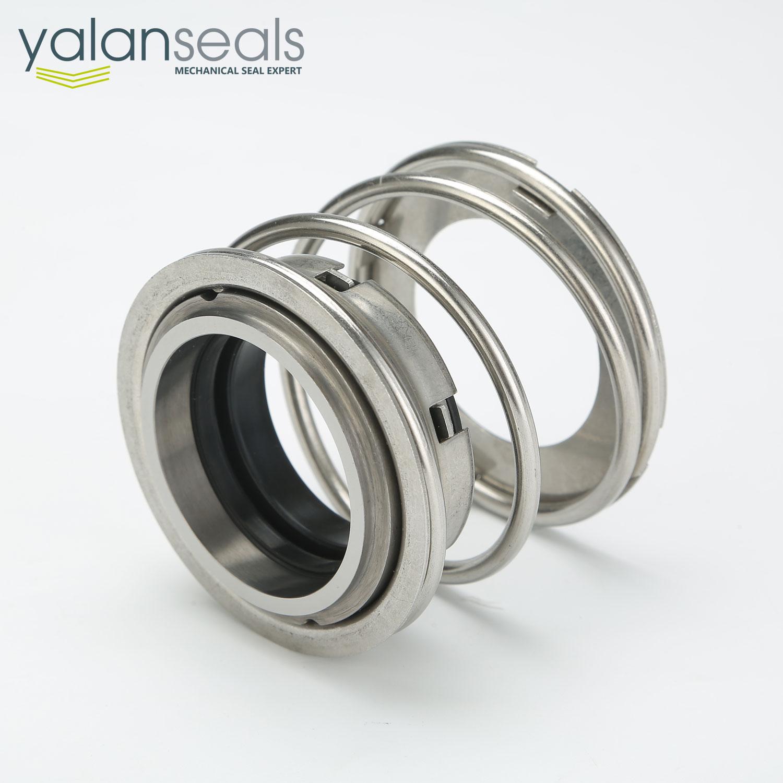 YALAN FBD Elastomer Bellow Single Spring Mechanical Seal for Clean Water and Sewage Pumps
