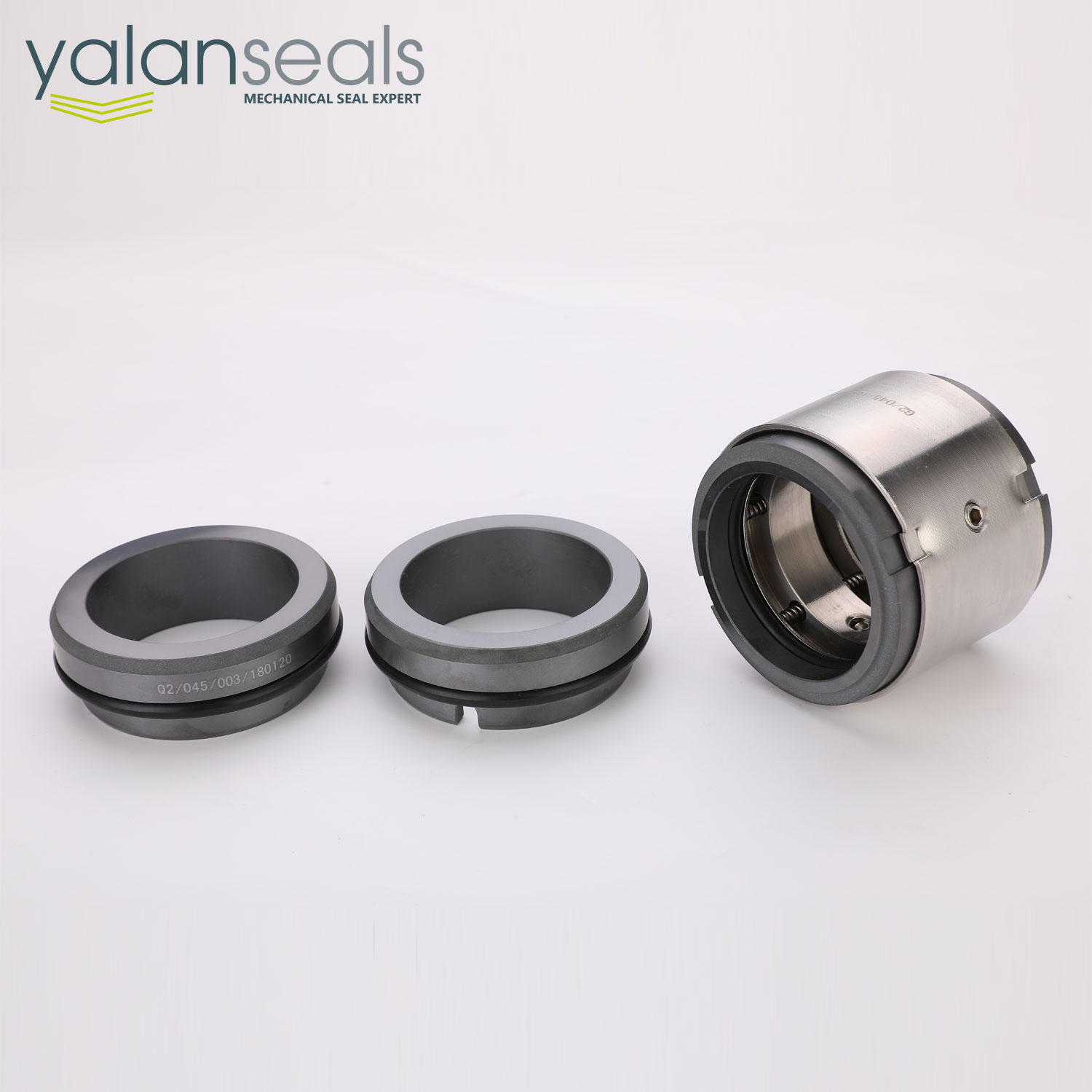 YALAN M74-D Double End Mechanical Seals for Chemical Centrifugal Pumps, KSB/Kaiquan Water Pumps and Double Suction Pumps
