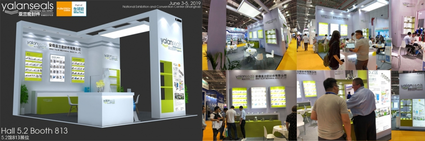 YALAN Seals at FlowTech China 2019