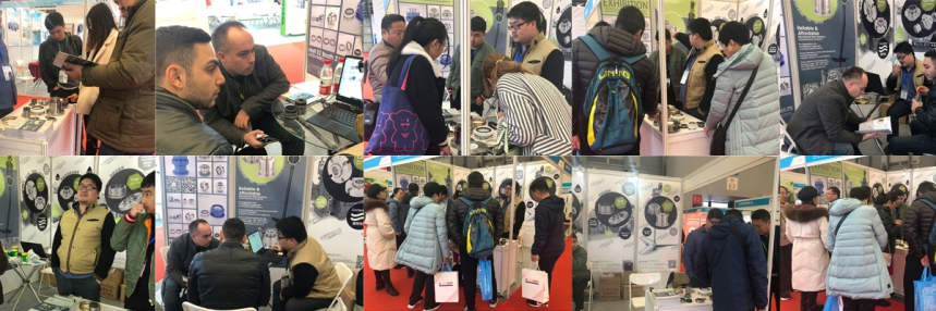 YALAN Seals at 2019 China (Shanghai) International Evaporation and Crystallization Technology and Equipment Exhibition
